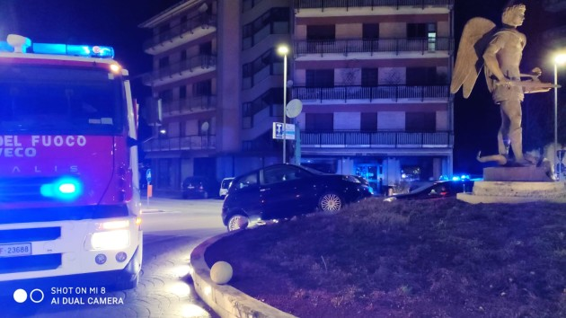 Incidente all'incrocio di via San Marino...San Michele Arcangelo salvo per miracolo
