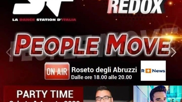 Stasera su R+ People Move di Christian Redox